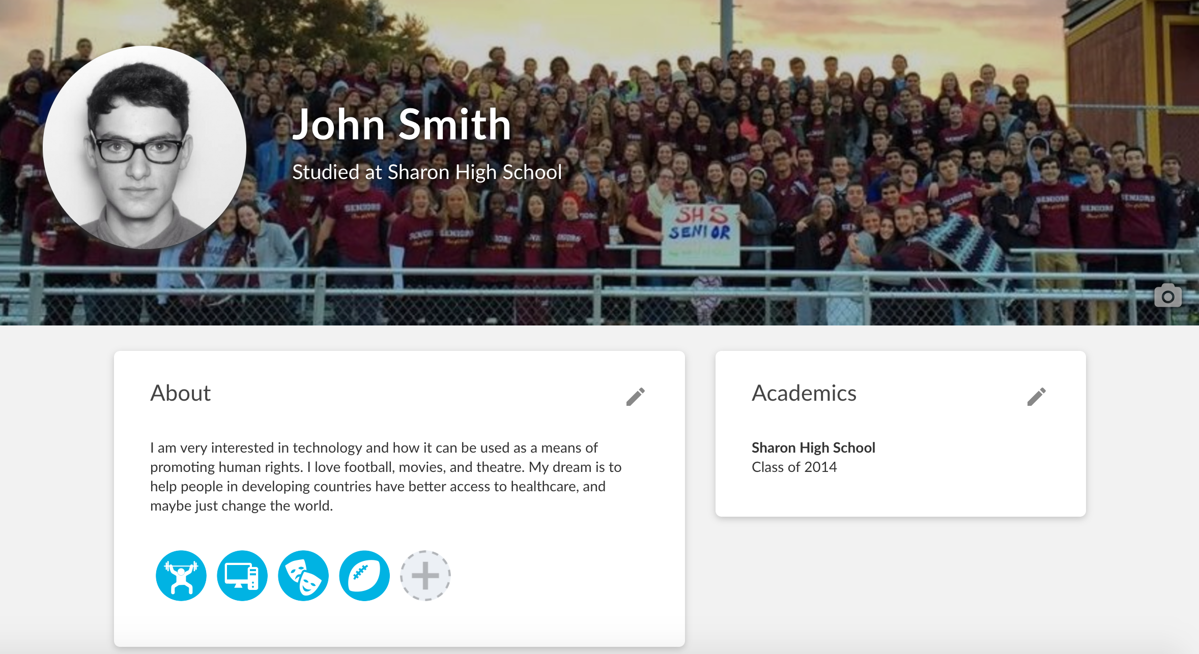 John Smith's Profile